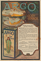 Argo Corn Starch advertisement, 1919