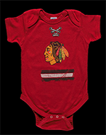 Chicago Blackhawks infant onesie, 2016