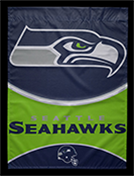 Seattle Seahawks banner, 2016