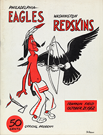 Football game program, 1962