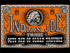 Indian Joe Tonic box, 1941