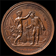 Daniel Morgan military medal, 1790