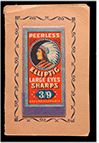 Peerless Elliptic Sharps package, ca. 1925