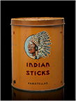 Indian Sticks cigar tin, ca. 1925