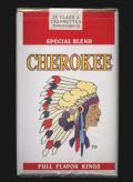 Cherokee Cigarettes package, 2000