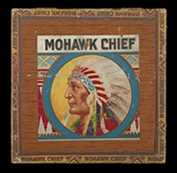 Mohawk Chief cigar box, ca. 1930