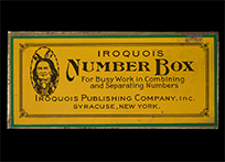 Iroquois Number Box, 1930s