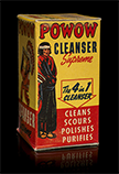 Powow Cleanser Supreme box, ca. 1955