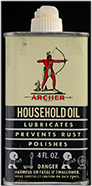 Archer Household Oil bottle, ca. 1950