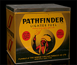 Pathfinder Lighter Fuel tin, 1960s