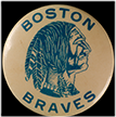 Boston Braves pin, ca. 1947