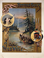 """The American"" poster for Buffalo Bill's Wild West show, 1893"