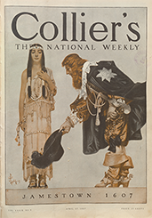 Collier's magazine cover, 1907