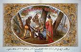 Powhatan Brand tobacco label, ca. 1860