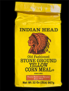 Indian Head Yellow Corn Meal bag, 2016
