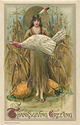 Thanksgiving greeting card, ca. 1915