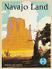 Navajo Land poster, ca. 1954
