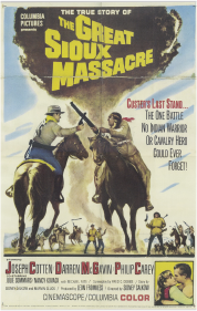 The Great Sioux Massacre movie poster, 1965