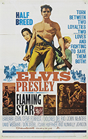 Flaming Star movie poster, 1960