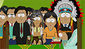 """Red Man's Greed,"" South Park, 7th season, 7th episode, 2003"