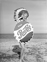 Miss Tallahassee advertises Pepsi-Cola, 1962