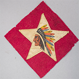 Marine Corps Indian-head-and-star shoulder insignia, ca. 1918