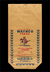 Waynco Feeds sack, ca. 1950