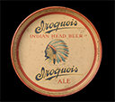 Iroquois Indian Head Beer tray, 1935–1940