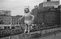 American Indian balloon in Macy's Thanksgiving Day Parade, 1936