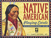 Native American Playing Cards box, 1995