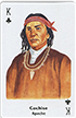 Cochise (Apache) playing card, 1995
