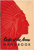 Cover of Order of the Arrow Handbook, 1959