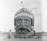 Big Chief root beer stand, ca. 1940