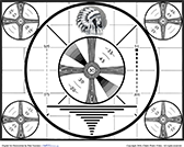 RCA Indian-head television test pattern, 1939