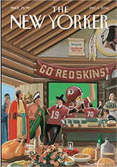 New Yorker magazine cover, 2014