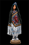 Northwest Coast Native American Barbie doll, 2000