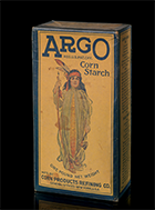 Argo Corn Starch box, ca. 1935