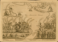 Liberty Triumphant, or the Downfall of Oppression, 1774