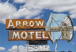 Arrow Motel sign, n.d.