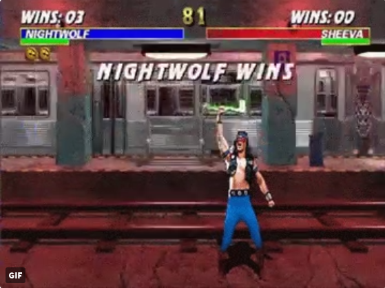 Nightwolf in Mortal Kombat