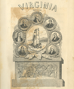 Frontispiece of Historical Collections of Virginia, 1844