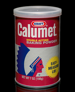 Calumet Baking Powder can, 2001