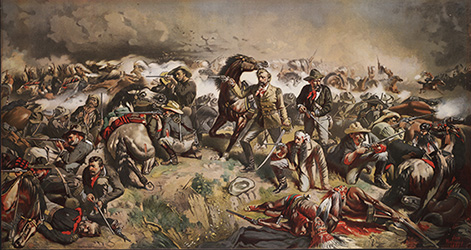 Battle of Little Big Horn, 1881