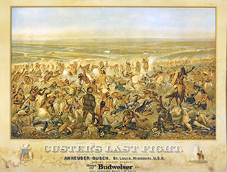Custer's Last Fight, 1896