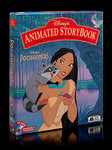 Disney's Animated Storybook: Pocahontas CD-ROM package, 1995