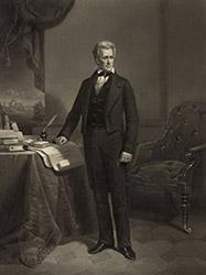 Andrew Jackson, 1860 engraving